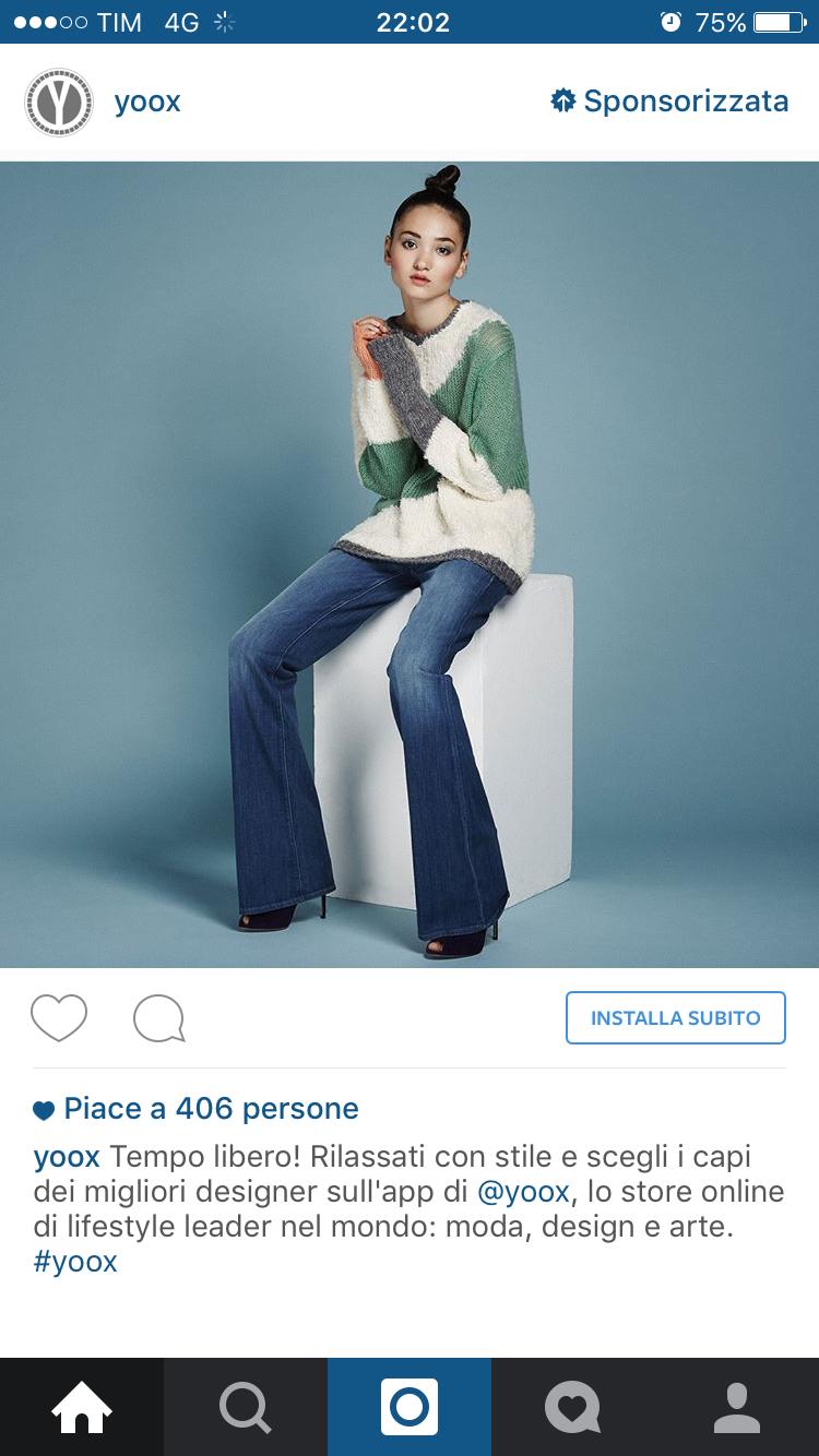instagram yoox