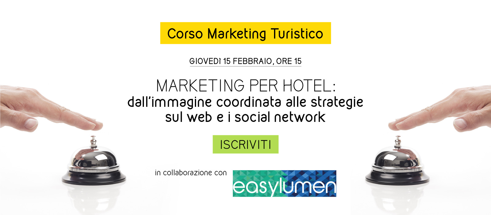 corso marketing turistico per hotel
