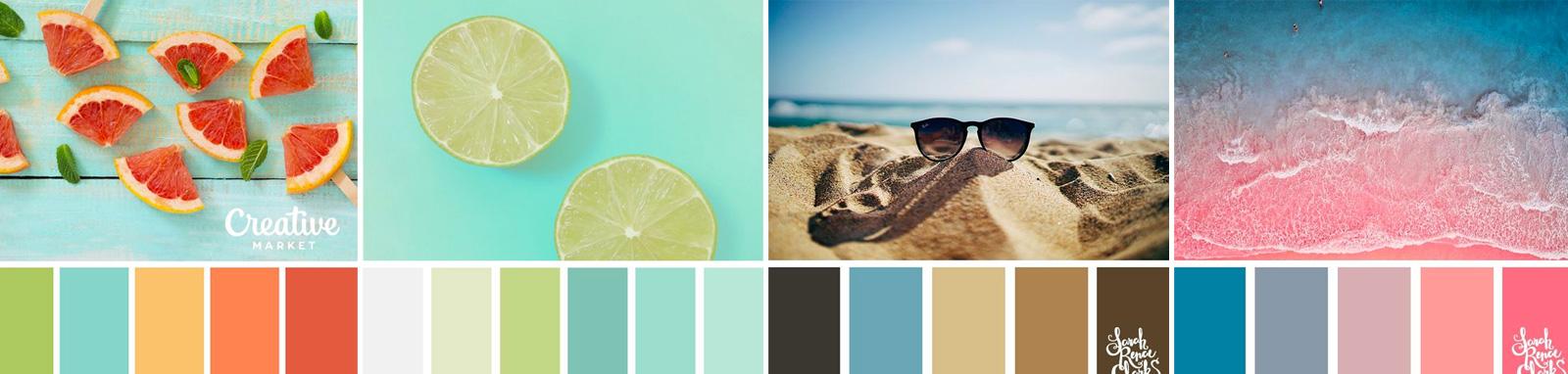 colori grafica estate