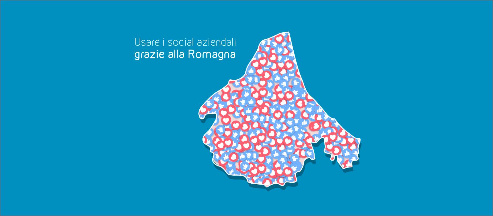 imparare a usare i social aziendali grazie alla Romagna