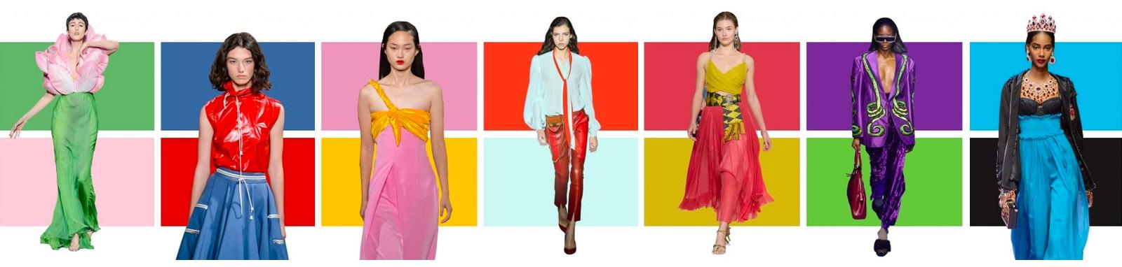 trend vestiti colori estate 2018