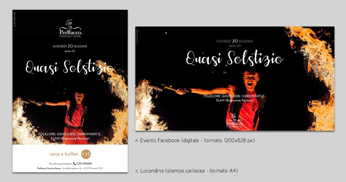 Locandina + Evento facebook