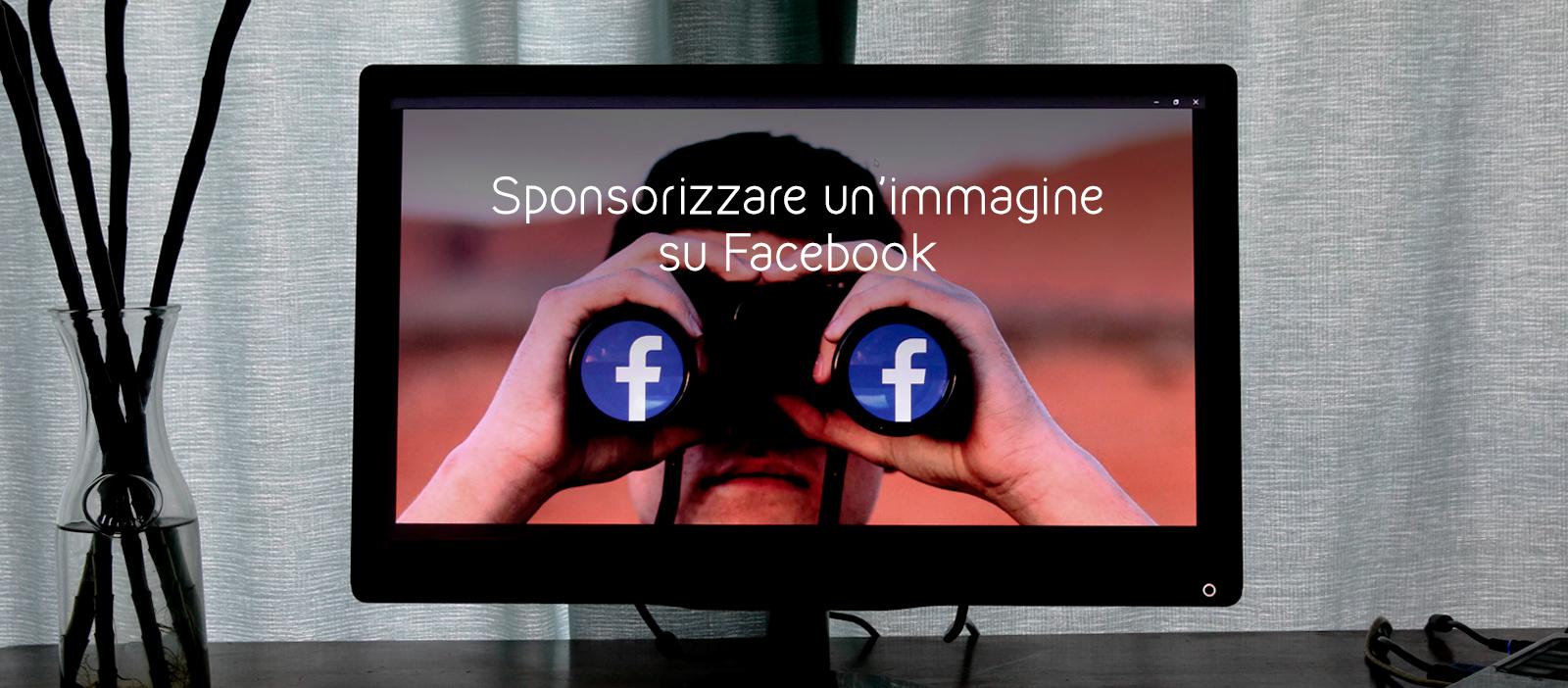 sponsorizzare un'immagine su facebook