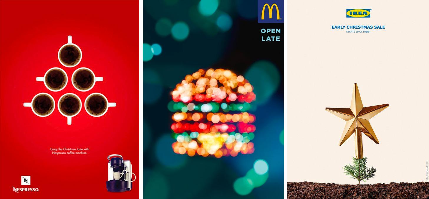 esempi di pubblicità natalizia