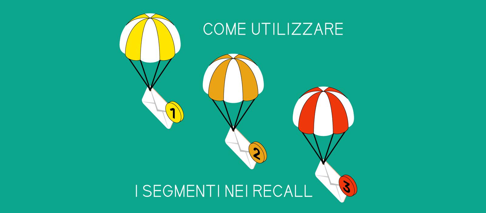 Come utilizzare i segmenti di recall