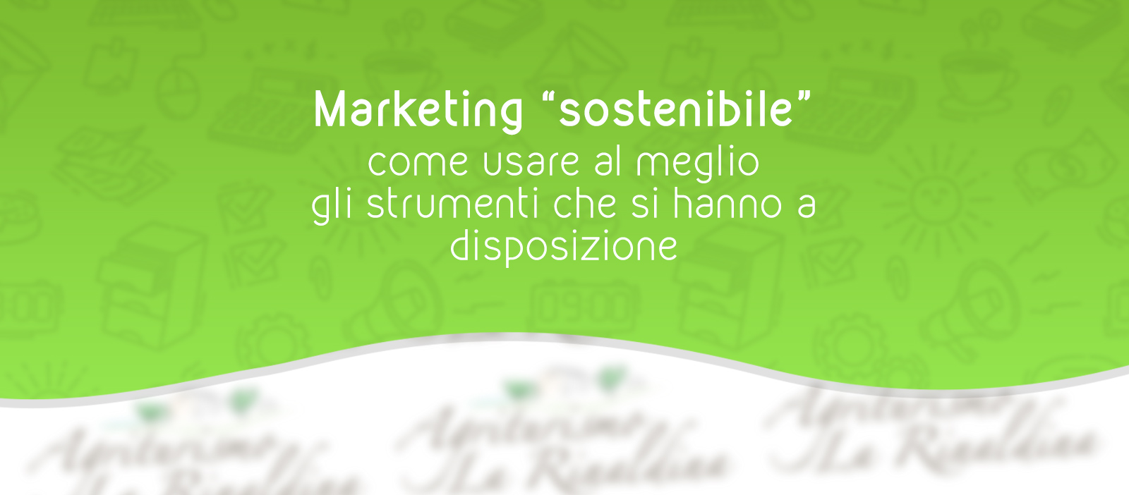 Marketing Sostenibile